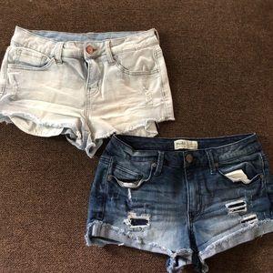 Pants - 3 pairs of mudd shorts